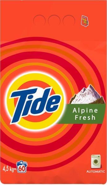 Tide Alpine Fresh 4,5 kg, 60 praní