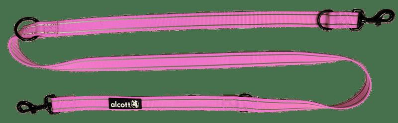 Alcott Přepínací vodítko až 200 cm růžové M