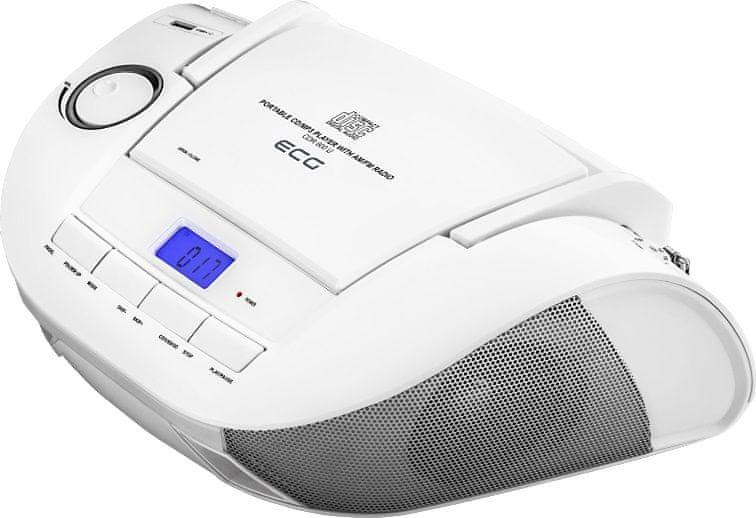 ECG CDR 800 U, bílá