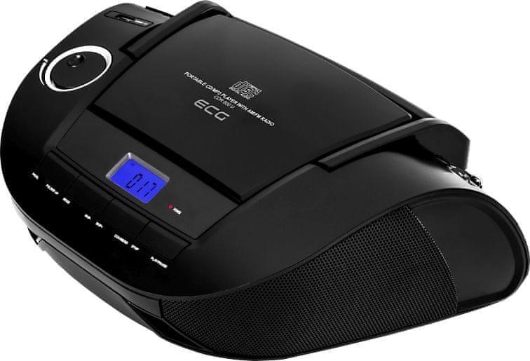 ECG CDR 800 U, černá