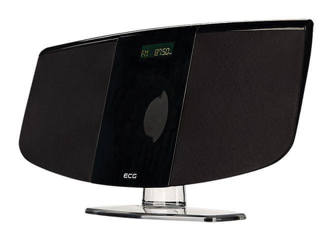 ECG XMS 1111 U, černá
