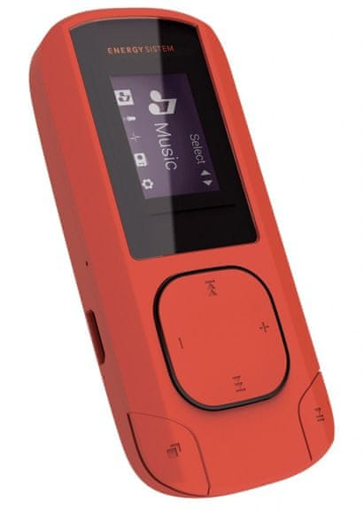 Energy Sistem MP3 Clip Coral