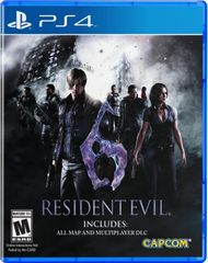 Capcom Resident Evil 6 / PS4