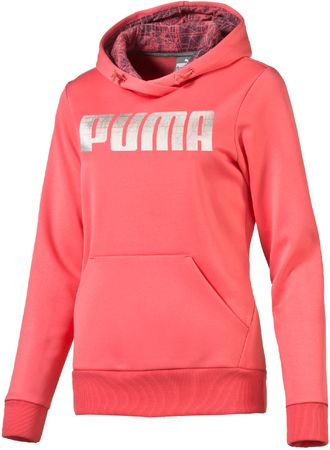Puma ženska trenirka Elevated Poly FL W, roza, S