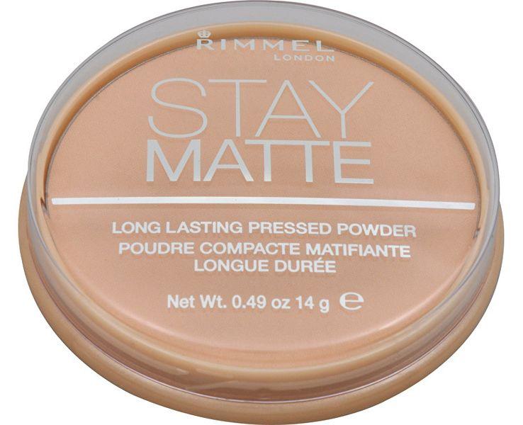 Rimmel Matující kompaktní pudr Stay Matte 14 g - SLEVA - rozbité víčko 002 Pink Blossom