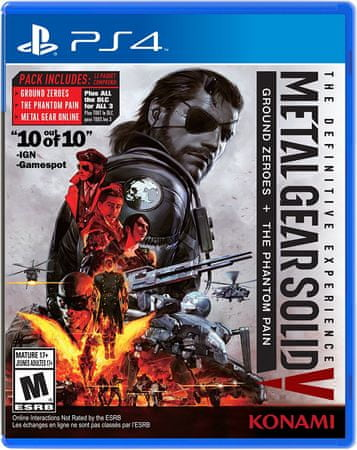 Konami Metal Gear Solid Definitive Experience (PS4)