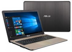 "Asus R540SA notebook 15,6"" Intel Celeron 3050 4GB 1000GB NO OS (R540SA-XX020)"