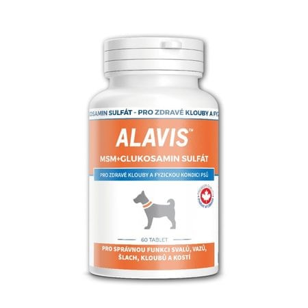 Alavis MSM+Glukosamin sulfát 60 tabliet