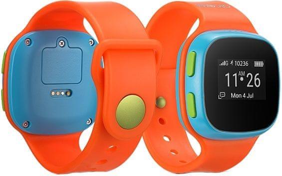 Alcatel MOVE TIME Track & Talk Watch, oranžová / modrá