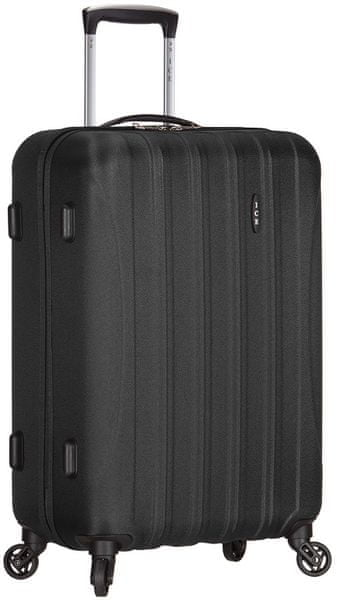 AZURE Cestovní kufr Ice M černá