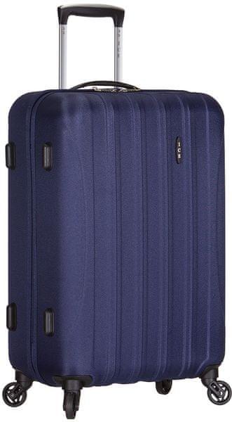 AZURE Cestovní kufr Ice M modrá