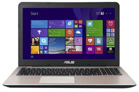 "Asus R556LD notebook 15,6"" Intel i7 4GB 1000GB NVIDIA 2GB DOS (R556LD-XO127D)"