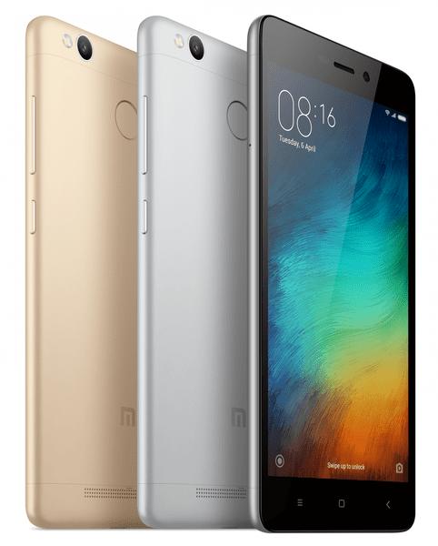 Xiaomi Redmi 3S, 2GB/16GB, zlatý