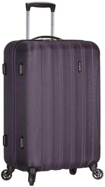 AZURE Cestovní kufr Ice M šedá