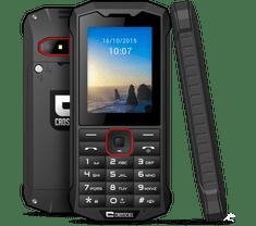 Crosscall mobilni telefon Spider X4, črn