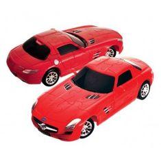 Eureka! Mercedes SLS AMG GT 3D Puzzle, Piros