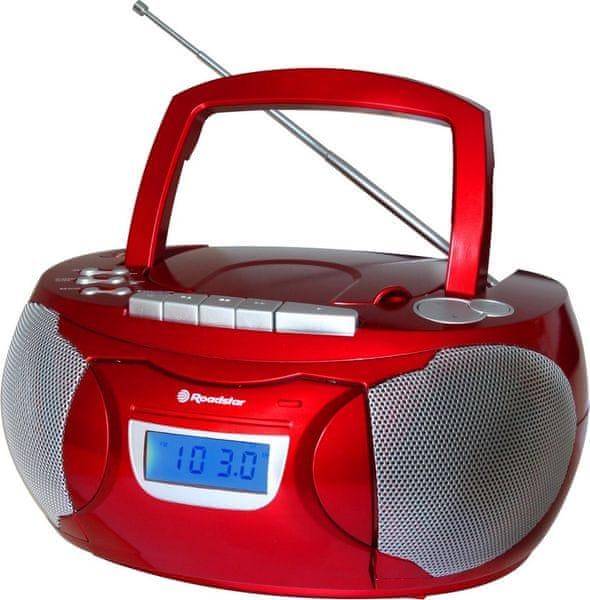 Roadstar RCR-3650UMPRD, červená