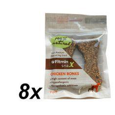 Fitmin Snax Chicken Bones 8 x 2ks