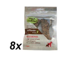 Fitmin Snax Wild Bones 8 x 2ks