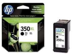 HP č.350XL černá originální inkoustová kazeta (CB336EE)