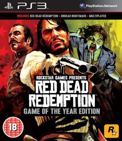 Rockstar Red Dead Redemption (PS3)