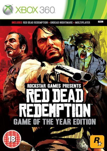 Rockstar Red Dead Redemption GOTY / Xbox 360