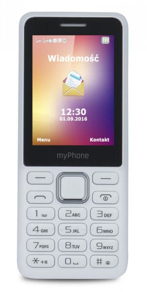myPhone 6310, bílý