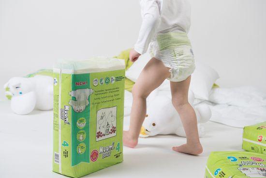 MUUMI BABY 6 Junior Pelenka (12-24 kg) 36 db