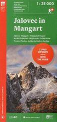 Planinski zemljevid Jalovec in Mangart - 1 : 25 000