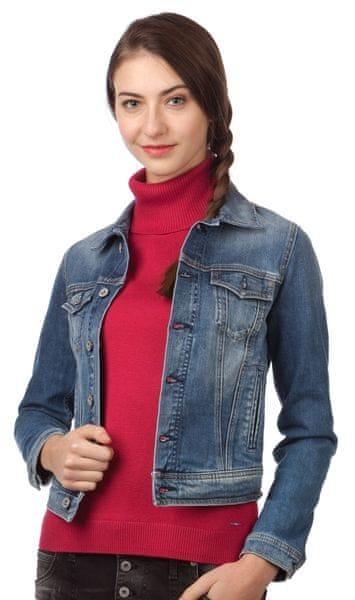 Pepe Jeans dámská bunda Core L modrá