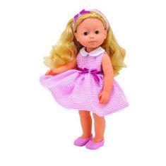 Smily Play Lalka Bambolina Boutique BD1600 w różowej sukience w paski