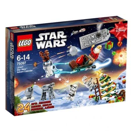 LEGO Star Wars 75097 Kalendarz Adwentowy - Allegro