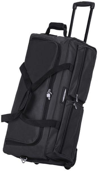 REAbags Cestovní taška na kolečkách Jeep černá