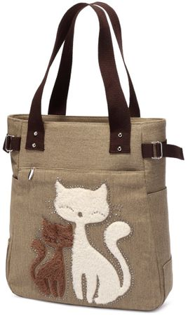 Kaukko torba Cutty Cat, rjava