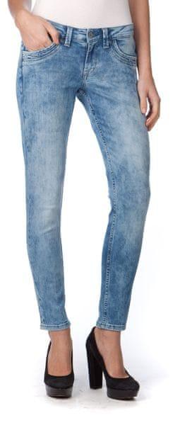 Pepe Jeans dámské jeansy Ripple 30/28 modrá