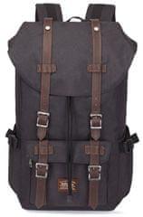 Kaukko vintage ruksak Hipster Bear