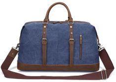 Kaukko torba Vintage life, modra