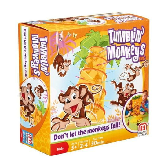 Mattel Spadające małpki 52563