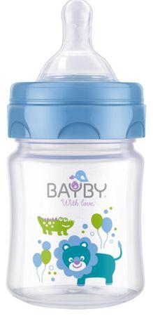 BAYBY BFB 6100 Cumisüveg, Kék, 120 ml