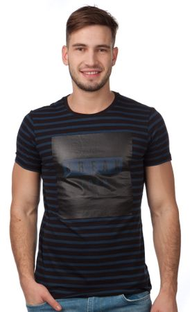 s.Oliver pánské bavlněné tričko XL tmavo modrá