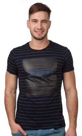 s.Oliver T-shirt męski M ciemny niebieski