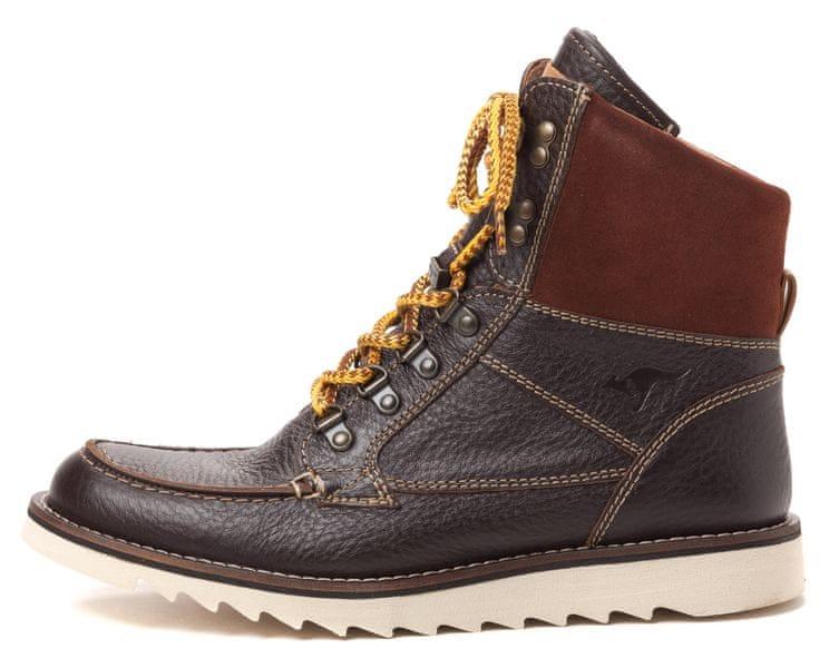KangaROOS pánská kotníčková obuv Chieftain 45 hnědá