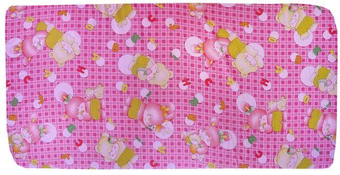 COSING Matrace molitanová 120 × 60 × 7 cm, růžová