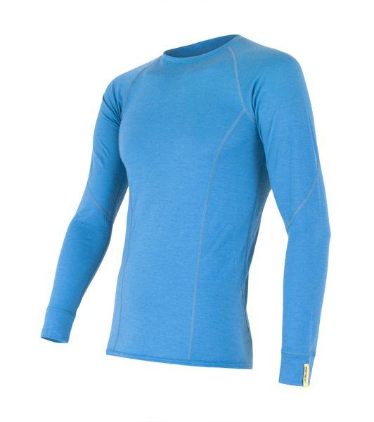 Sensor Sensor Merino Wool Active pánské triko dlouhý rukáv modrá XL