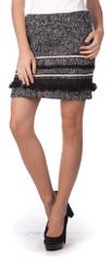 Brave Soul dámská černobílá sukně Coco