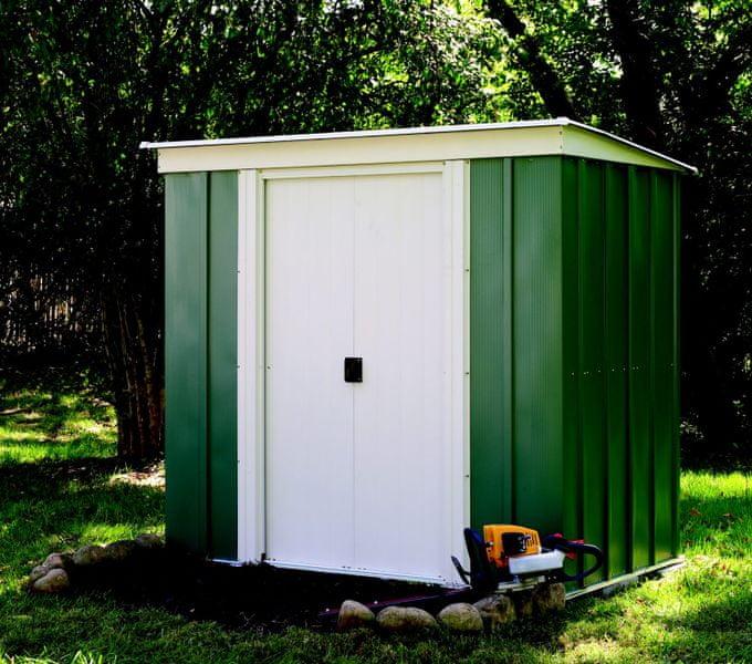 Arrow zahradní domek ARROW PT 64 zelený