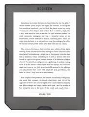 Bookeen e-bralnik Cybook Muse HD
