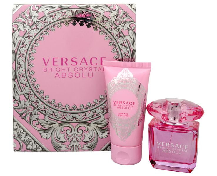 Versace Bright Crystal Absolu - EDP 30 ml + tělové mléko 50 ml
