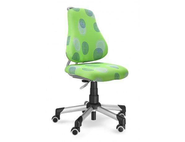 Rostoucí dětská židle Actikid 2, čalounění 26093, univerzální kolečka
