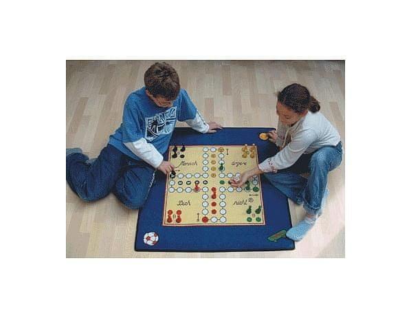 Dětský koberec Člověče nezlob se 92x92 cm